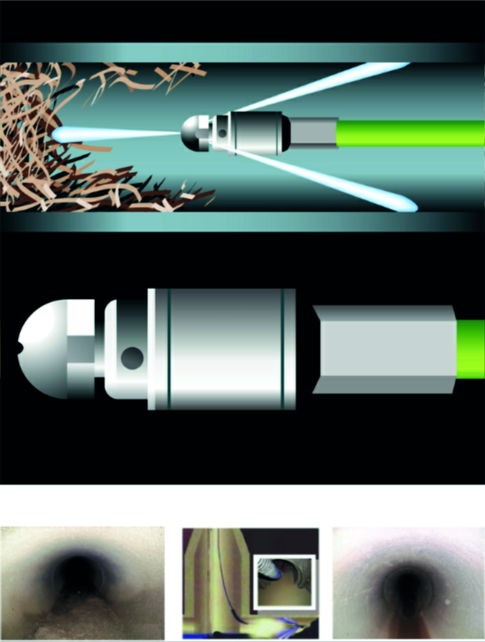 Sewer Cleaning Tools